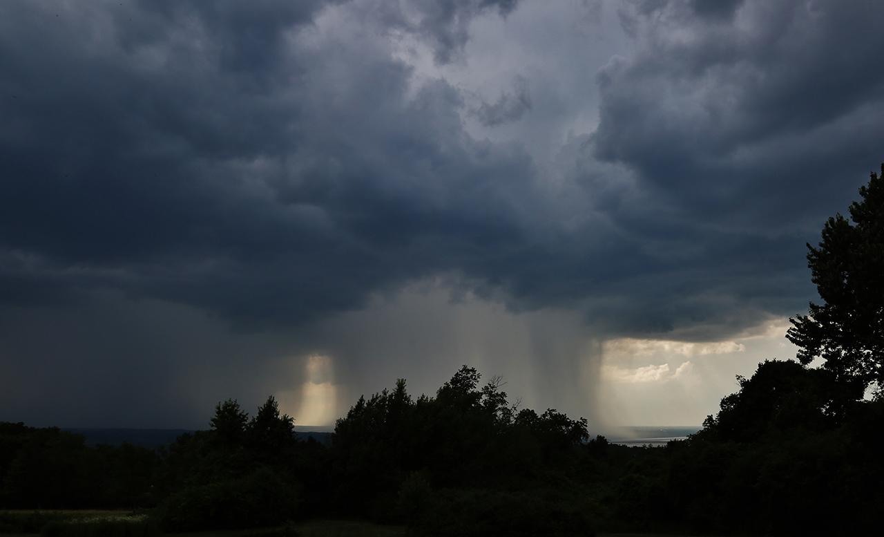 Rain in Tompkins County (photo)