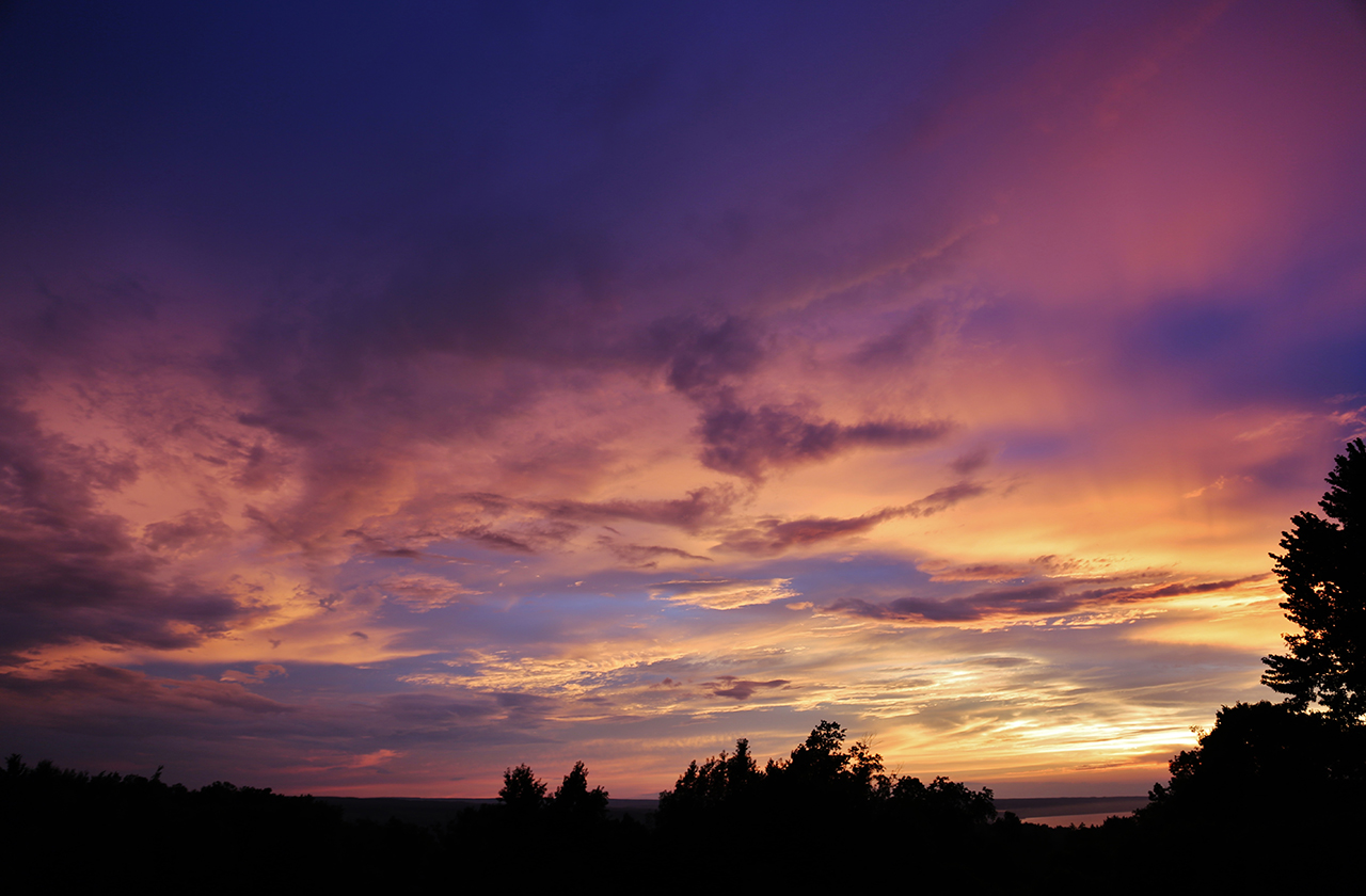 Summer Colors in Tompkins County (photo)