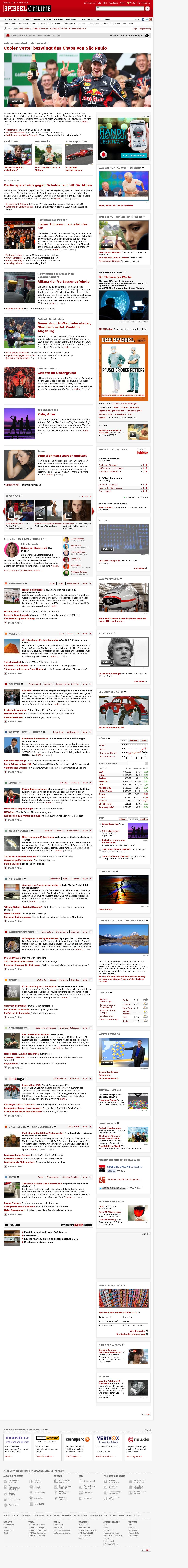 Spiegel Online at Monday Nov. 26, 2012, 2:29 a.m. UTC