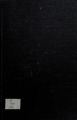 Cover of: Bureaucracy and representative government   William A. Niskanen