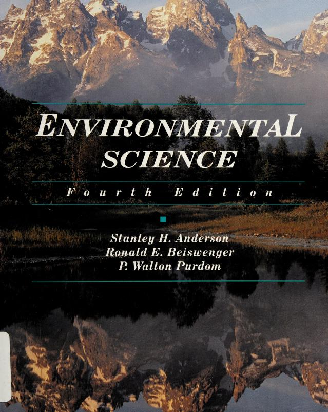 Environmental science by Stanley H. Anderson