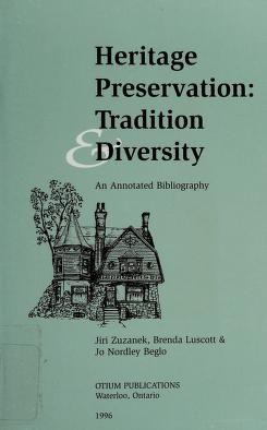 Cover of: Heritage preservation | Jiri Zuzanek