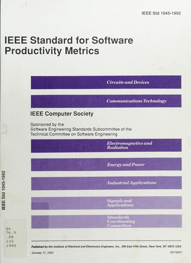 IEEE Guide for Software Verification and Validation Plans by IEEE