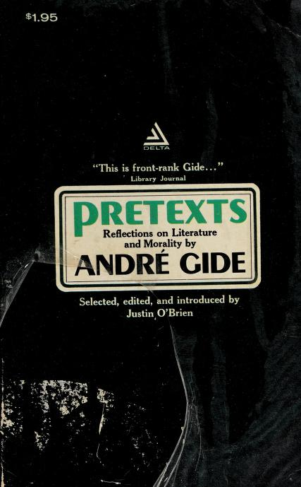 Pretexts by André Gide